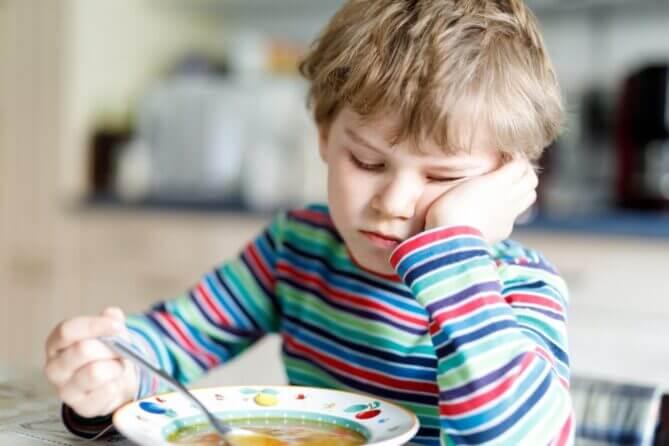 Kind met soep - Ouderschapsplan